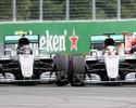 """Fiquei p..."", confessa Rosberg, sobre toque com Hamilton na primeira curva"