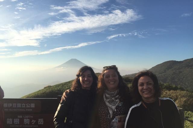 Eliane Giardini curte férias com as filhas, Mariana e Juliana Betti (Foto: Arquivo pessoal)
