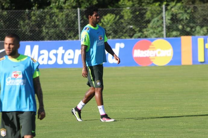 Gil - seleção - brasil (Foto: Diego Guichard)