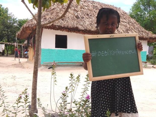 Projeto visa arrecadar biciletas para crianças de comunidade kalunga, em Goiás (Foto: Divulgação)