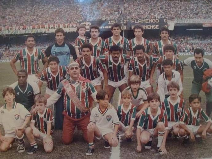 Fluminense campeão Edson Souza  (Foto: Reprodução)
