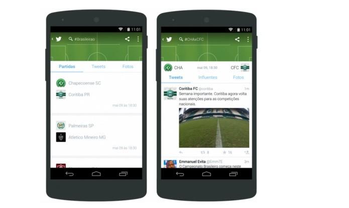 Twitter lança novo produto voltado para fãs de futebol com o #Brasileirão (Foto: Divulgação/Twitter)