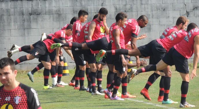 Joinville treino CT (Foto: João Lucas Cardoso)