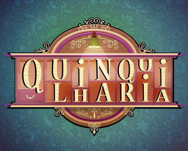 Quinquilharia logo (Foto: Caldeirão do Huck/TV Globo)