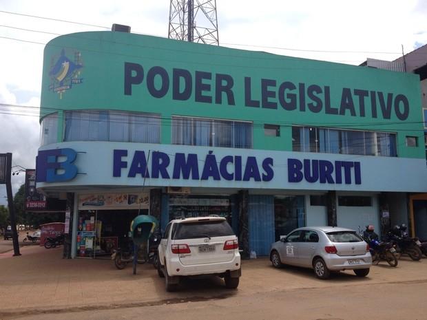 Seis veradores foram afastados da Câmara de Buritis (Foto: Eliete Marques/G1)