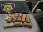 Jovens são detidos com droga avaliada em R$ 135 mil em Uberaba