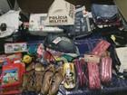 Quadrilha suspeita de furtar lojas em várias cidades é detida em Congonhal