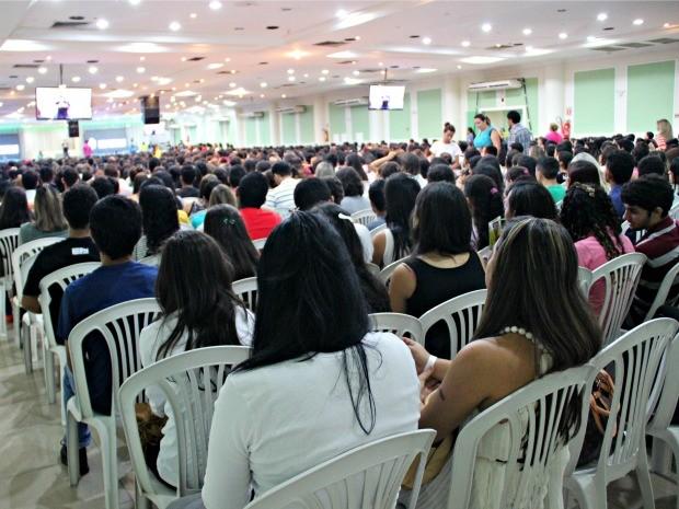 Terceira edição de seminário do 'Eu Resolvi Esperar' em Manaus (Foto: Adneison Severiano/G1 AM)