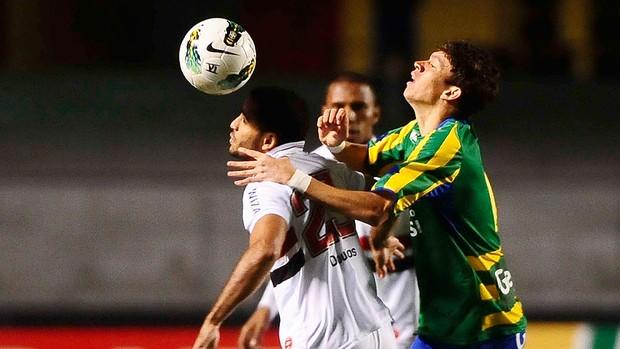 São Paulo x Goias (Foto: Marcos Ribolli / Globoesporte.com)