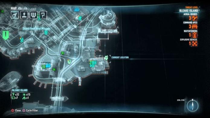 Como encontrar o quarto bombeiro no mapa (Foto: Reprodução/André Mello)