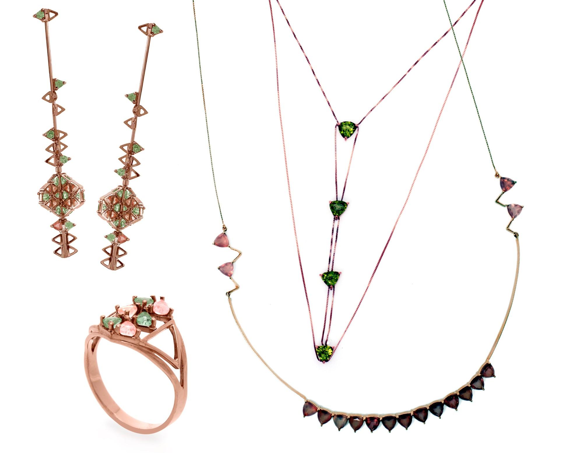 Carol Bassi lança linha de joias inspirada no artista Ólafur (Foto: Divulgação)