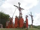 Em Ipatinga, encenação da Paixão de Cristo emociona fiéis