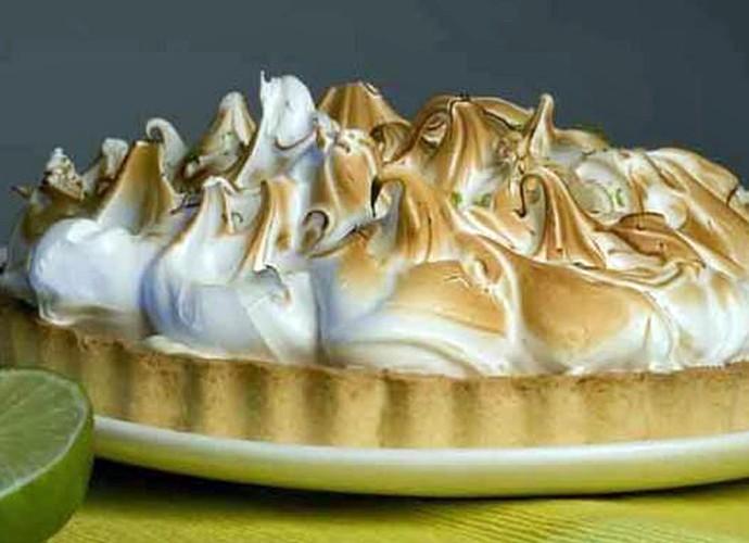 Torta de Limão (Foto: TV Globo)