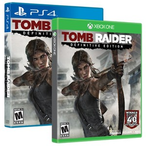 Caixa de 'Tomb Raider: Definitive Edition' para PlayStation 4 e Xbox