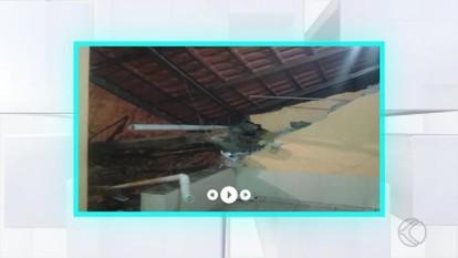 Bombeiros registram ocorrências por causa da chuva em Santos Dumont