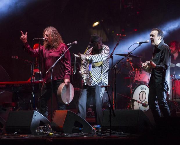 Robert e banda se apresentam neste sábado (Foto: Felipe Monteiro/Gshow)