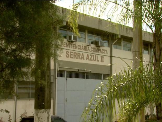 Crime na Penitenciária II de Serra Azul, SP, foi na quinta-feira (29) (Foto: Reprodução/EPTV)