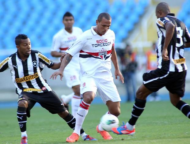 Luis Fabiano São Paulo x Botafogo (Foto: Maurício Val / Vipcomm)