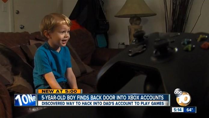 Garoto de apenas 5 anos descobre falha de login na Xbox Live através do Xbox One (Foto: Kotaku)
