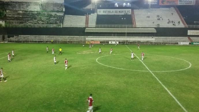 Estrela do Norte e Tombense fazem jogo fraco e empatam no Sumaré (Foto: Alissandra Mendes/Estrela do Norte FC)