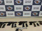 Polícia Rodoviária flagra dupla com pistolas na Castello Branco