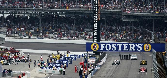 Largada GP dos EUA em 2005 (Foto: Getty Images)