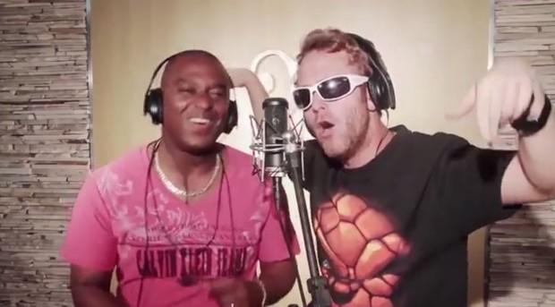Cabeção e Dino Boyer (Foto: YouTube/Reprodução)