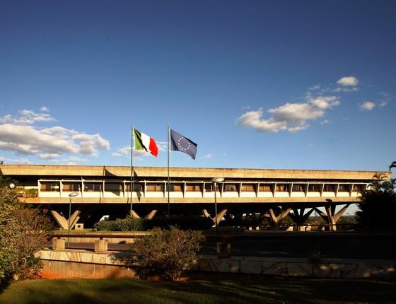 Embaixada italiana em Brasília (Foto: Ambasciata Brasilia/Flickr)