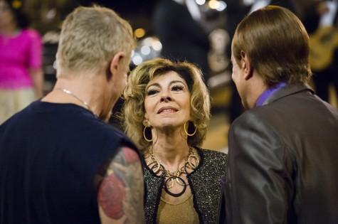Marília Pêra grava nova temporada do 'Pé na cova' (Foto: Tata Barreto/TV Globo)