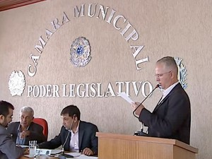 Investigações de fraude em Araguari  (Foto: Reprodução/ TV Integração)