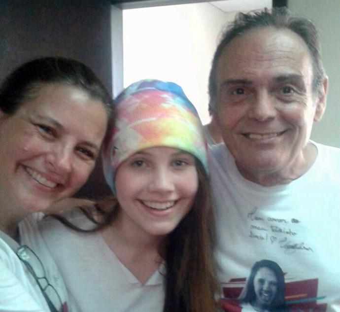 Eliane e Nezinho são padrinhos de Carol Passos (Foto: Arquivo pessoal)