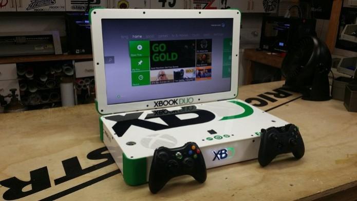 Xbook Duo junta Xbox One e Xbox 360 em um só (Foto: Polygon) (Foto: Xbook Duo junta Xbox One e Xbox 360 em um só (Foto: Polygon))