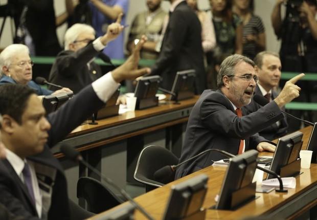 Comissão da Reforma Política, na Câmara (Foto: Agência Brasil)