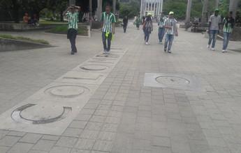 Medellín se pinta de verde e branco para receber nova final de Libertadores