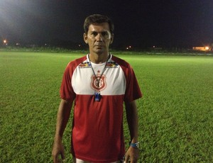 Hernan Oliveira, técnico do Guajará Esporte Clube (Foto: Júnior Freitas)