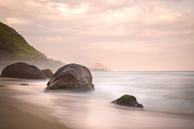 Foto de praia (Foto: Paulo Del Valle)