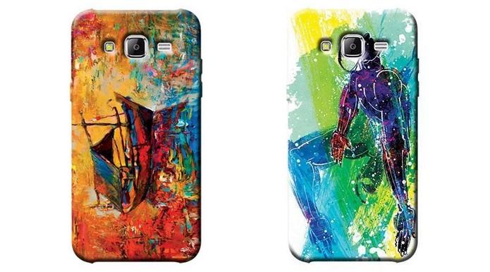 90702fc26 Capa com estampa artística para Samsung Galaxy J5 (Foto  Divulgação OEM)