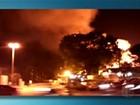Incêndio em indústria de Suzano é controlado, diz Corpo de Bombeiros