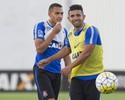 """Guilherme volta ao Corinthians, foca no G-6 e elogia Jô: """"Um dos melhores"""""""