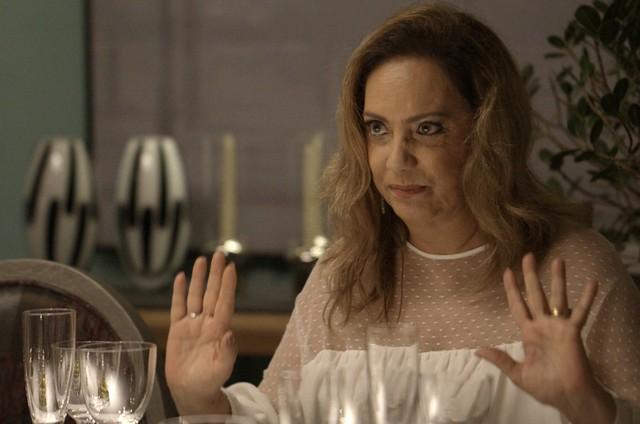 Eliane Giardini, a Nádia de 'O outro lado do paraíso' (Foto: TV Globo)
