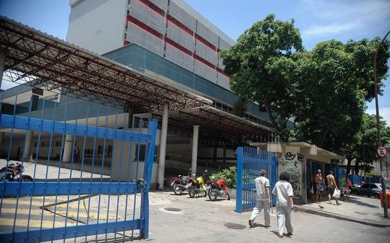Hospital Municipal Souza Aguiar, no centro do Rio (Foto: Tomaz Silva/Agência Brasil)