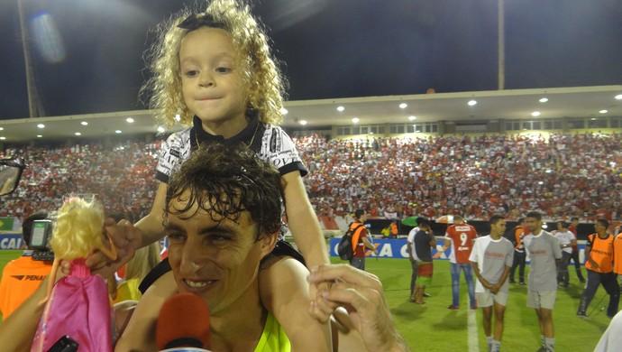 Clebinho CRB (Foto: Denison Roma/Globoesporte.com)