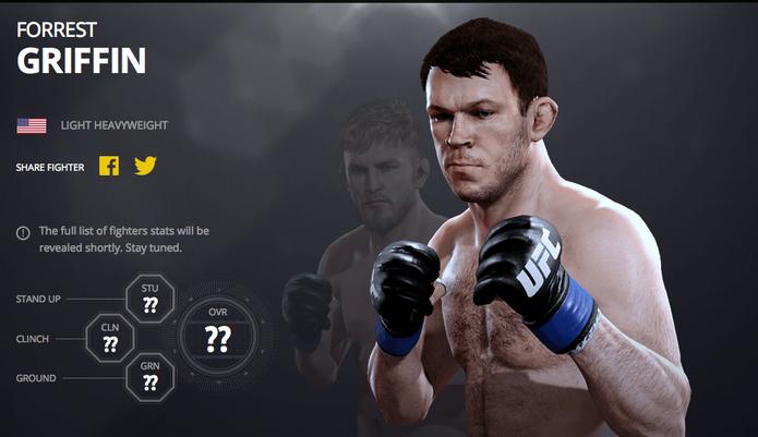 Veja lista de lutadores lendários de UFC 2 (Foto: Divulgação/EA)