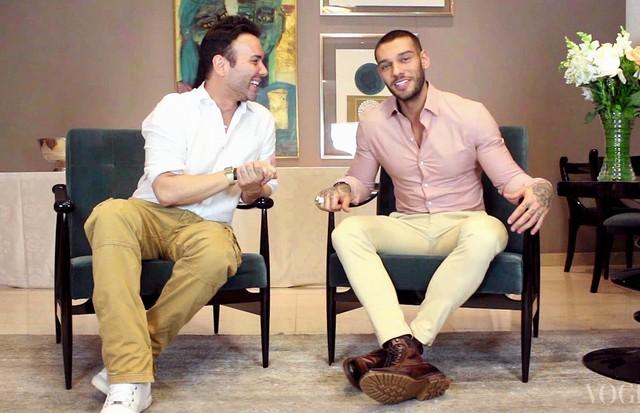 Mister V entrevista o cantor Lucas Lucco (Foto: Divulgação)
