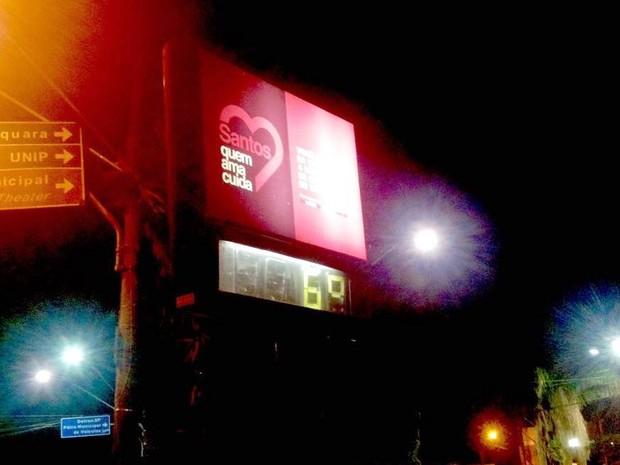 Termômetros marcaram 6°C às 6h desta segunda-feira (Foto: Luis Paes/G1)