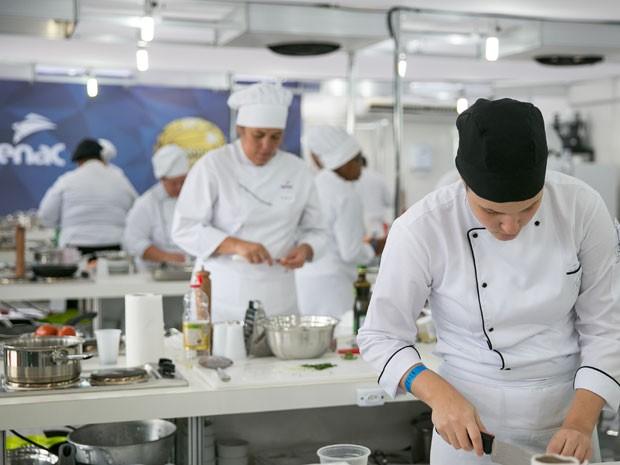 Além das disputas, haverá série de atividades para o público, como aulas-show de gastronomia  (Foto: Guilherme Rocha / Divulgação)