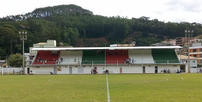 Estádio Olímpio Perim, em Venda Nova do Imigrante (Foto: Divulgação/Rio Branco VN)