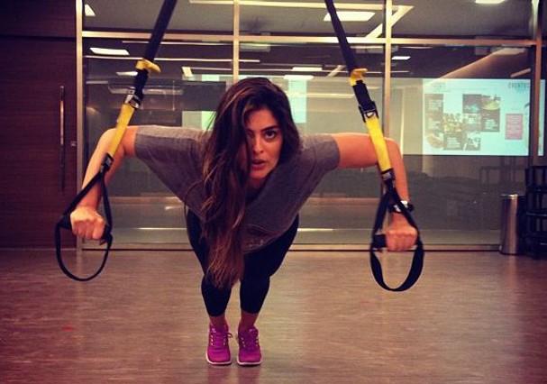 Juliana Paes é adepta do treinamento Hiit (Foto: Reprodução/Instagram)