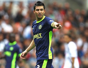 Antolin Alcaraz wigan (Foto: Agência Getty Images)