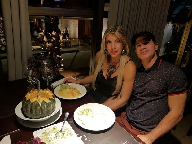 Tulio Maravilha e Cristiane Maravilha (Foto: Reprodução/Instagram)